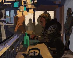 Melbourne artist Rebecca Jones - Digital -Interiors (4)