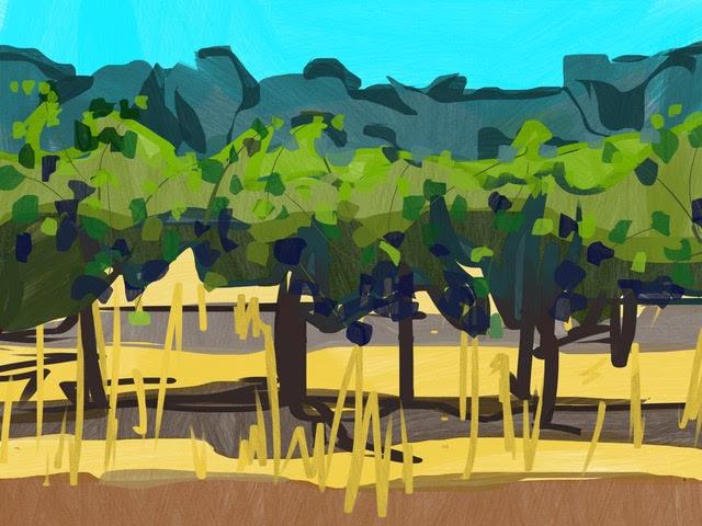 Melbourne artist Rebecca Jones - Artwork - Digital - Scapes (4)