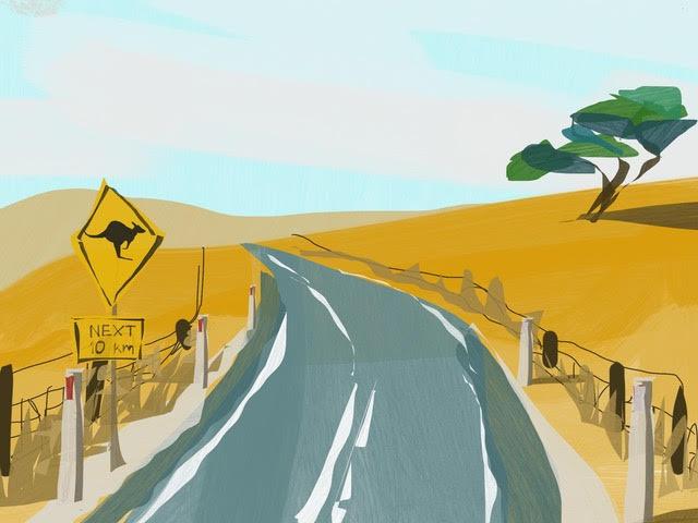 Melbourne artist Rebecca Jones - Artwork - Digital - Scapes (7)