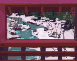 Melbourne artist Rebecca Jones - Digital - Snow (11)