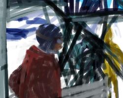 Melbourne artist Rebecca Jones - Digital - Snow (2)