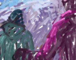 Melbourne artist Rebecca Jones - Digital - Snow (5)
