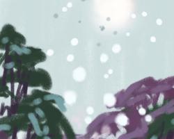 Melbourne artist Rebecca Jones - Digital - Snow (7)
