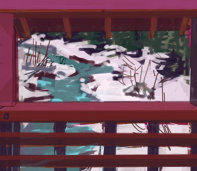Melbourne artist Rebecca Jones - Artwork - Digital - Snow (11)