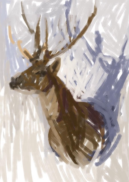 Melbourne artist Rebecca Jones - Artwork - Digital - Snow (3)