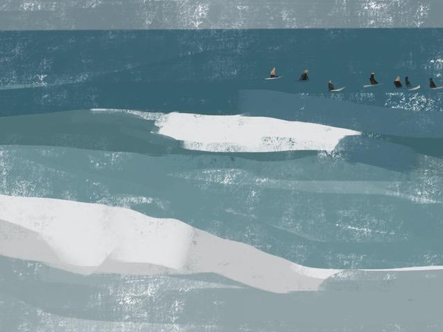 Melbourne artist Rebecca Jones - Artwork - Digital - Water (9)