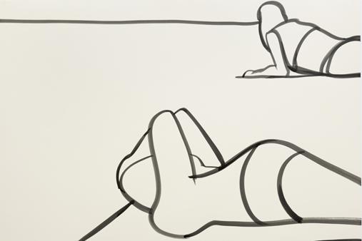 Melbourne artist Rebecca Jones - Artwork - Drawing - Coast
