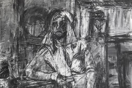 Melbourne artist Rebecca Jones - Artwork - Drawing - Yuna