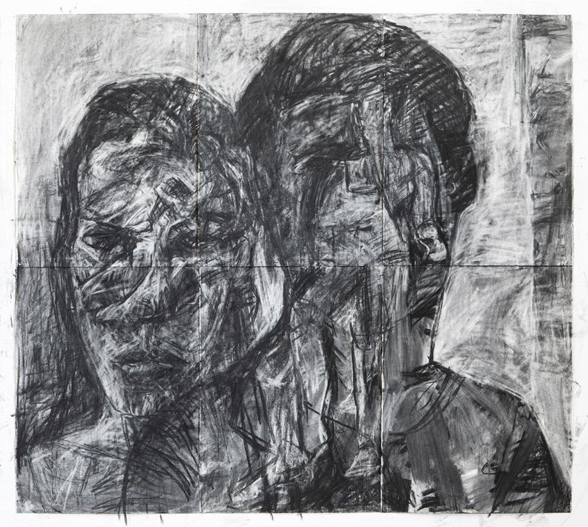 Melbourne artist Rebecca Jones - Artwork - Drawing - Construction by Destruction
