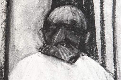 Melbourne artist Rebecca Jones - Artwork - Drawing - Portrait not Portrait (4)