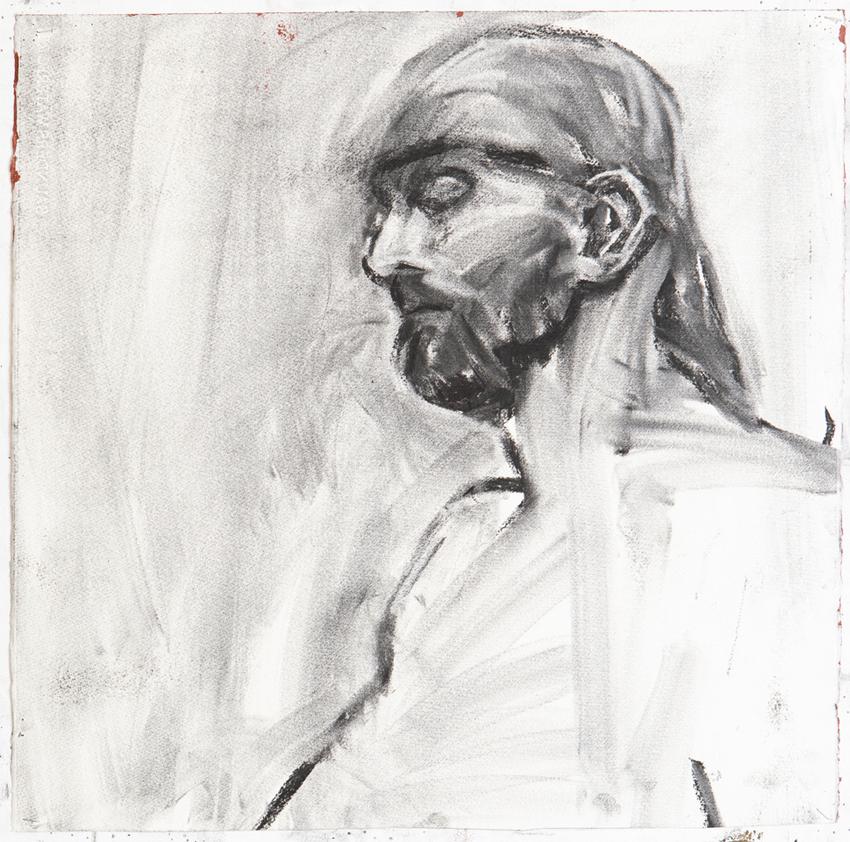 Melbourne artist Rebecca Jones - Artwork - Drawing - Portrait not Portrait (1)