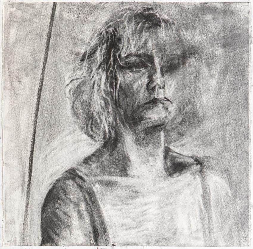 Melbourne artist Rebecca Jones - Artwork - Drawing - Portrait not Portrait (2)