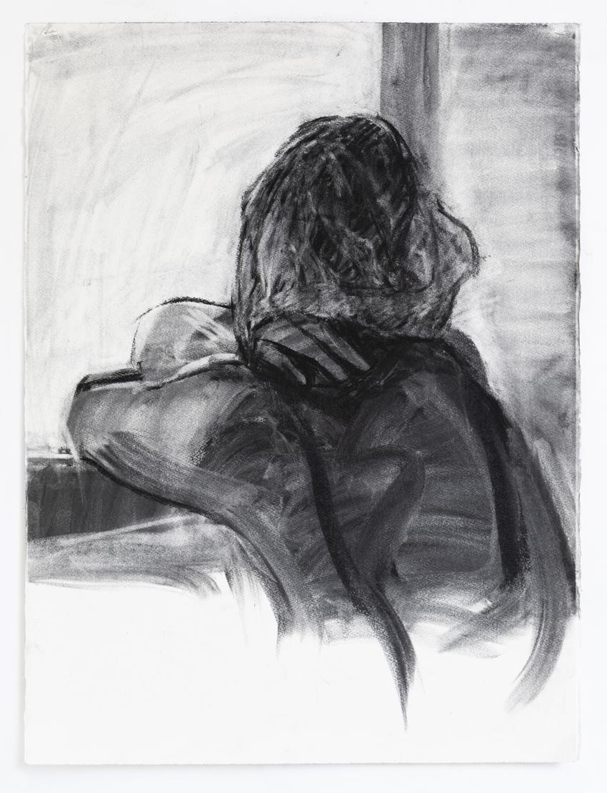 Melbourne artist Rebecca Jones - Artwork - Drawing - Portrait not Portrait (5)