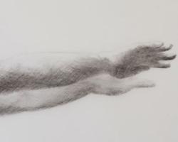 Melbourne artist Rebecca Jones - Artwork - Drawing - Swimming - Depth - Saturday Morning II