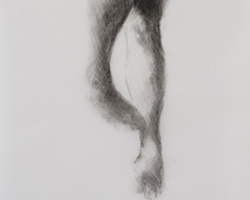 Melbourne artist Rebecca Jones - Artwork - Drawing - Swimming - Depth - Saturday Morning III
