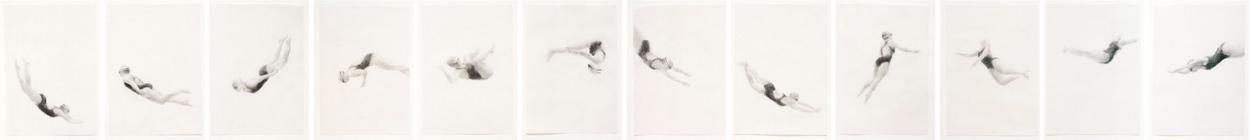Melbourne artist Rebecca Jones - Artwork - Drawing - Flow