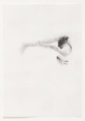 Melbourne artist Rebecca Jones - Artwork - Drawing - Swimming - Flow 6