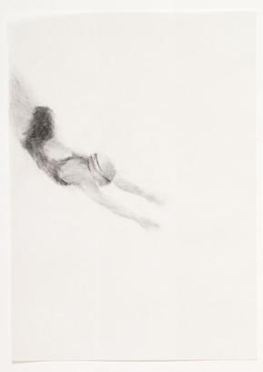 Melbourne artist Rebecca Jones - Artwork - Drawing - Swimming - Flow 7