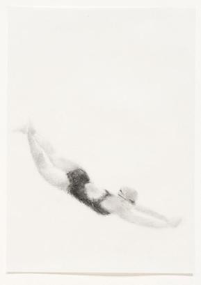 Melbourne artist Rebecca Jones - Artwork - Drawing - Swimming - Flow 8
