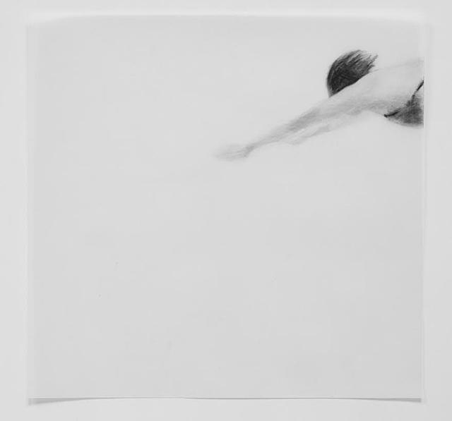 Melbourne artist Rebecca Jones's drawing - Under the Wave 1