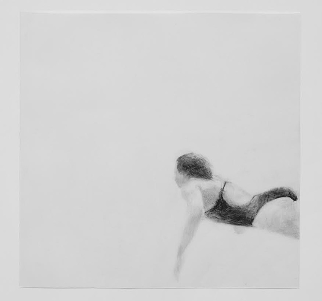 Melbourne artist Rebecca Jones's drawing - Under the Wave 5