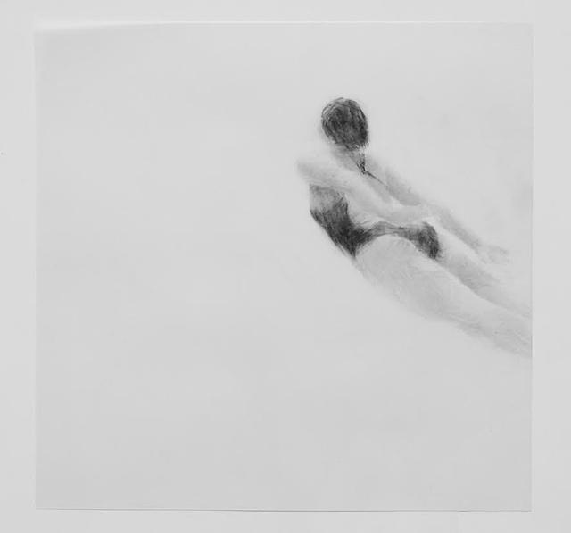 Melbourne artist Rebecca Jones's drawing - Under the Wave 7