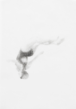 Melbourne artist Rebecca Jones's drawing - Swimming - Water 14