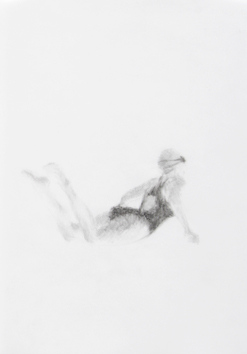 Melbourne artist Rebecca Jones's drawing - Swimming - Water 15