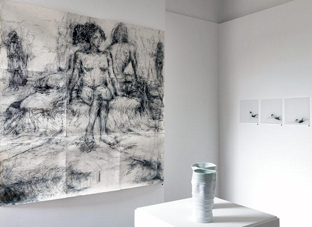 Melbourne artist Rebecca Jones - Exhibition - New York Drawings (2011)