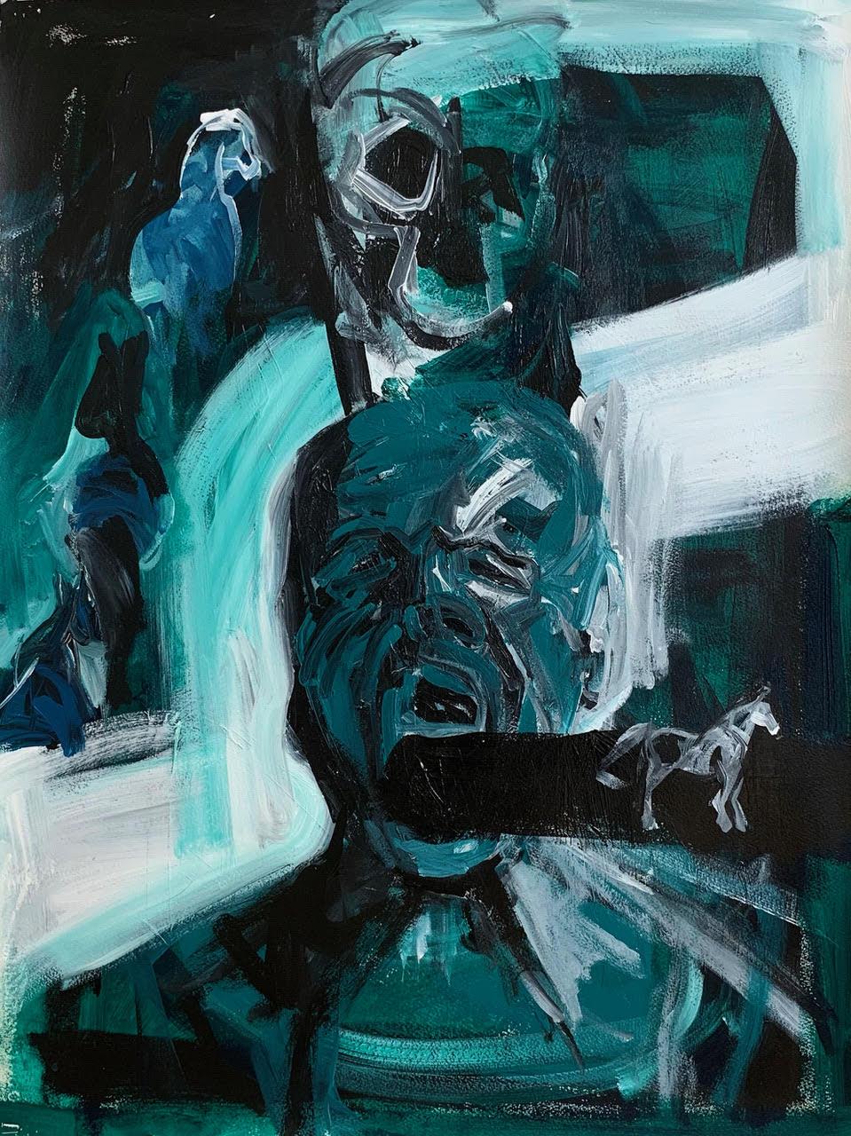 Melbourne artist Rebecca Jones - Artwork - Painting - Horse